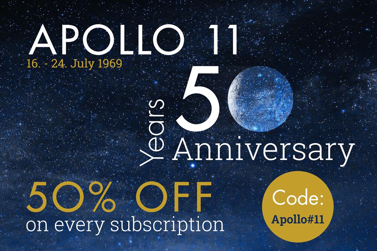 Promo 50 Years Moon Landing