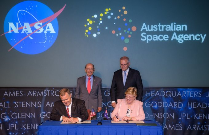 Australia to cooperate with NASA on lunar exploration