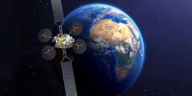Eutelsat's All-Electric KONNECT Satellite Ships To French Guiana For Launch