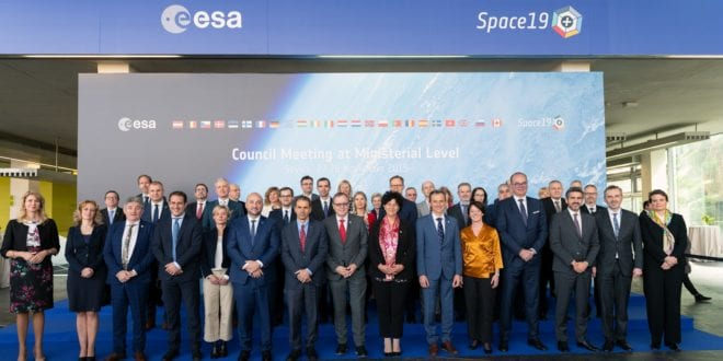 Record funding for European space investments in Seville at Space19+