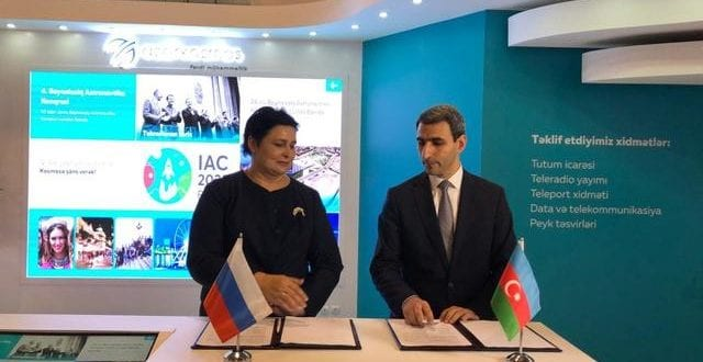 Russia's RSCC And Azerbaijan's AzerCosmos Sign SATCOM Sharing Agreement
