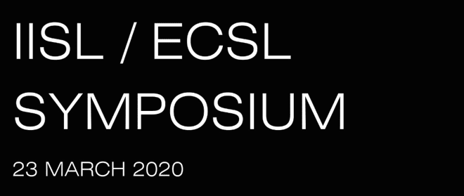 IISL-ECSL Symposia On Space Law For The Global Space Economy