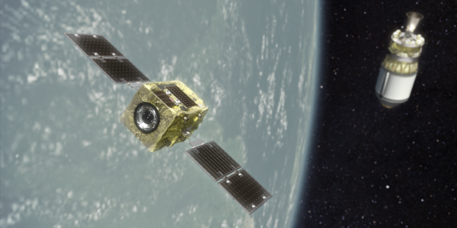 Astroscale Selected As Commercial Partner For JAXA's Commercial Removal Of Debris Demonstration Project