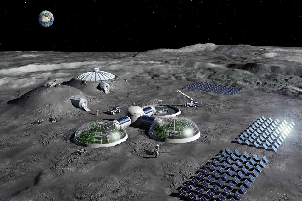NASA Planning To Convert Moon Crater Into A Giant Telescope