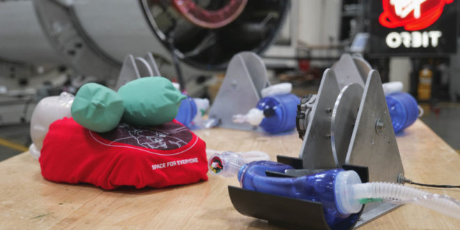Virgin Orbit Designs New Mass-Producible Ventilators For Covid-19 Patients