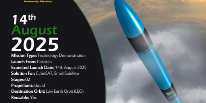 The Rocket and Satellite Company announce first launch date
