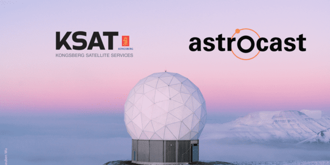 Astrocast and KSAT agree to leverage the KSATLITE Ground Network