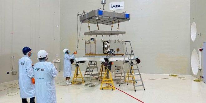 EnMAP German environmental satellite passes optical instrument test - SpaceWatch.Global