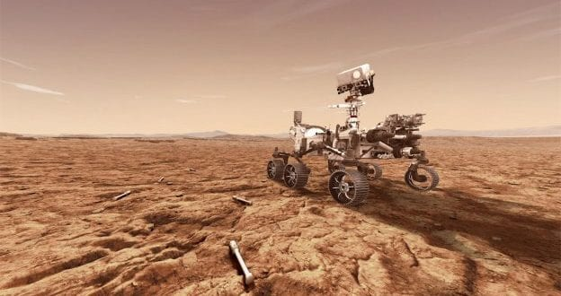Maxar contributes sixth robotic arm for Mars rover program