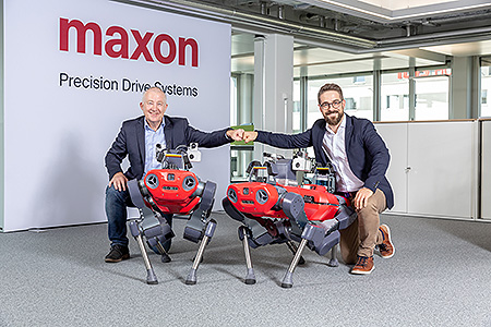 Swiss maxon and ANYbotics join forces to develop the ANYmal inspection robot