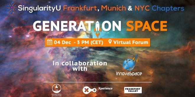 Join Generation Space on December 4th - SpaceWatch.Global