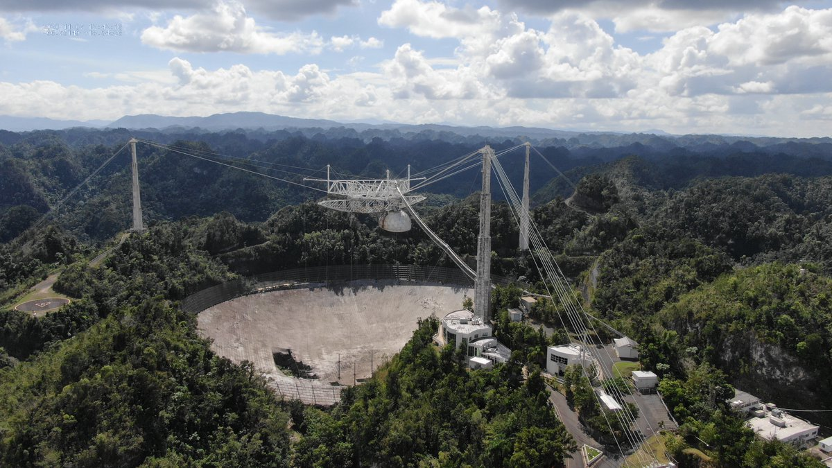 Arecibo radio telescope in Puerto Rico to be decommissioned - SpaceWatch.Global