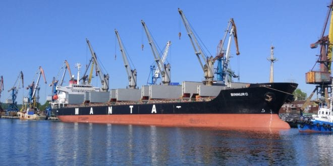 Turkish Manta Shipping connects vessels with Marlink
