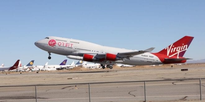 """Virgin Orbit launches """"Tubular Bells"""", its first commercial mission"""