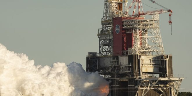 "NASA and Boeing suffer ""major setback"" with SLS test"