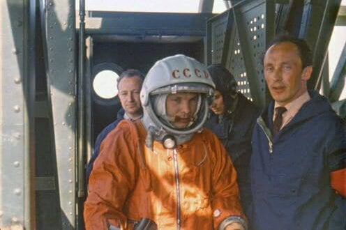 #SpaceWatchGL Share: Yuri Gagarin's boomerang: the tale of the first person to return from space, and his brief encounter with Aussie culture