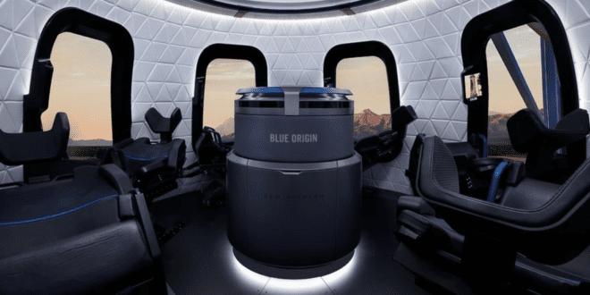 Blue Origin sells seat on New Shepard's first human flight for $28 million