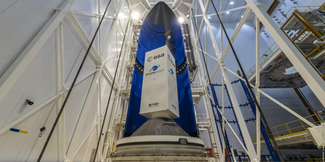 Ariane 6 fairing begins tests at French Guiana space port