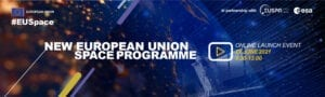 - DEFIS EUSPACE Launch event Banner  210602 5 300x90 - Europe to present EU Space Programme on 22 June