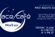 """Register Today For Our Space Café WebTalk – """"33 minutes with Prof. Kazuto Suzuki"""" On 15 June 2021"""