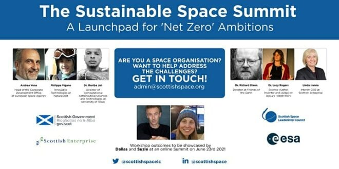 Space Sector Explores Environmental Challenges and Prepares for Sustainability Summit