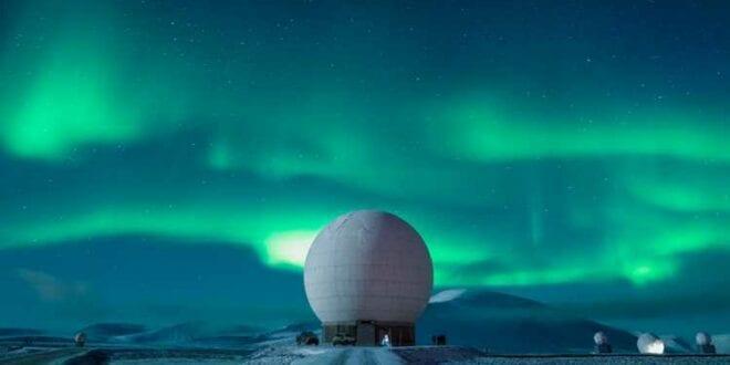 Kongsberg opens new Ka-band antenna at Antarctica