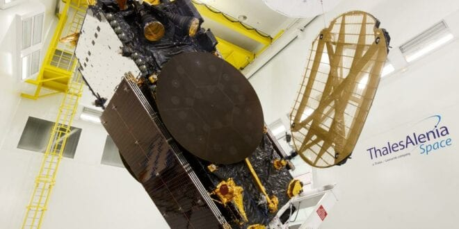 Thales and Hellas Sat test satellite 5G in Greece