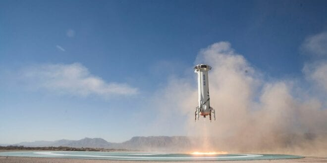 Blue Origin succeeds round trip, making Jeff Bezos astronaut