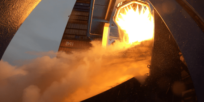 RFA test-fired its staged combustion engine