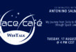 """Register Today For Our Space Café """"33 minutes with Antonino Salmeri"""" On 17 August 2021"""