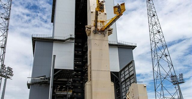 Ariane 6´s launch pad in French Guiana inaugurated