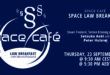 """Register Today For Our Space Café """"Law Breakfast with Steven Freeland"""" On 23 September 2021"""