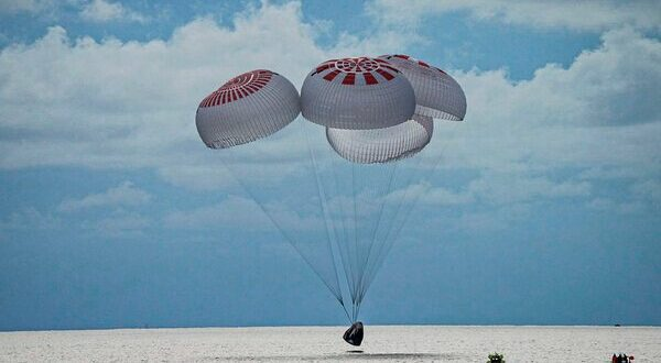 SpaceX's Inspiration4 safely returns to Earth