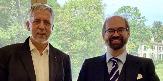 Space Café Radio: On Tour in Geneva – UK Ambassador Aidan Liddle, UK Mission Geneva