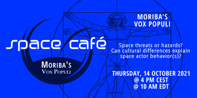 "Register Today For Our Space Café ""Moriba's Vox Populi"" On 14 October 2021"